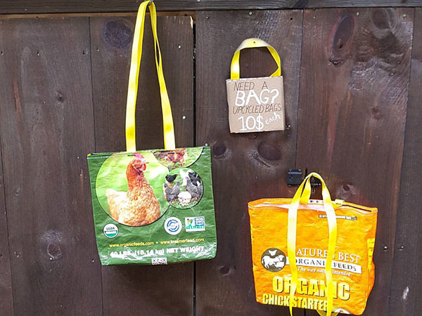 upcycled bags